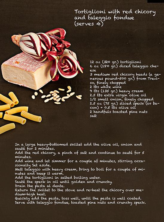 recipe tortiglioni