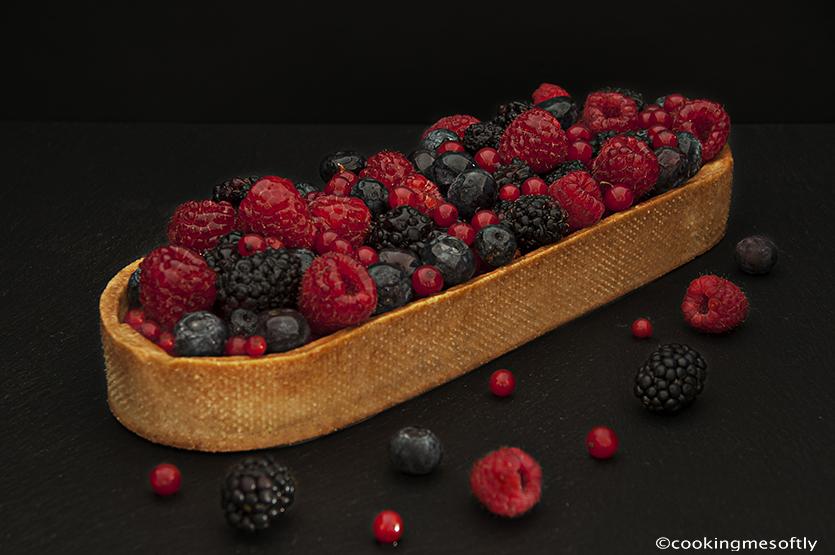 crostata ai frutti rossi