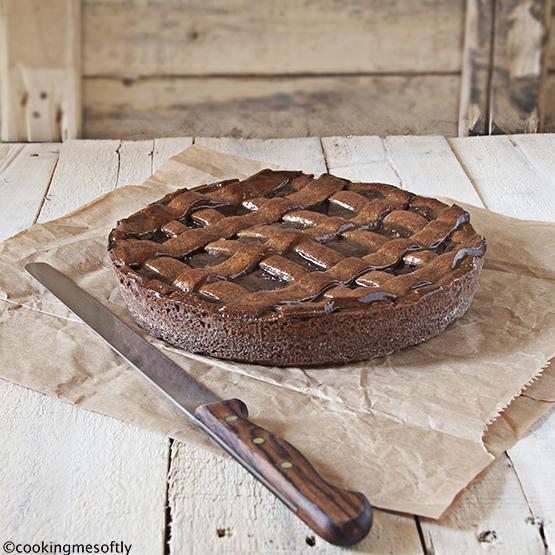 Crostata al cioccolato di E .Knamm