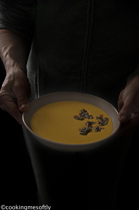 Crema di zucca con zenzero e granola 3