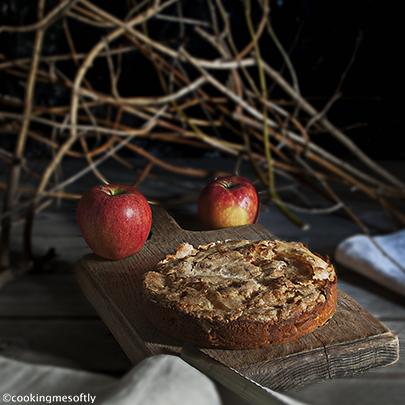 torta di mele croccante 1