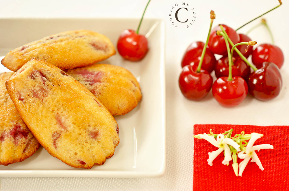 Cherries Madeleines