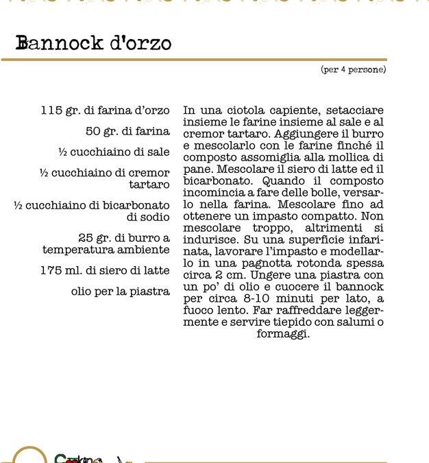 Bannock d'orzo