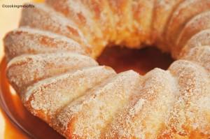 Savory bundt cake