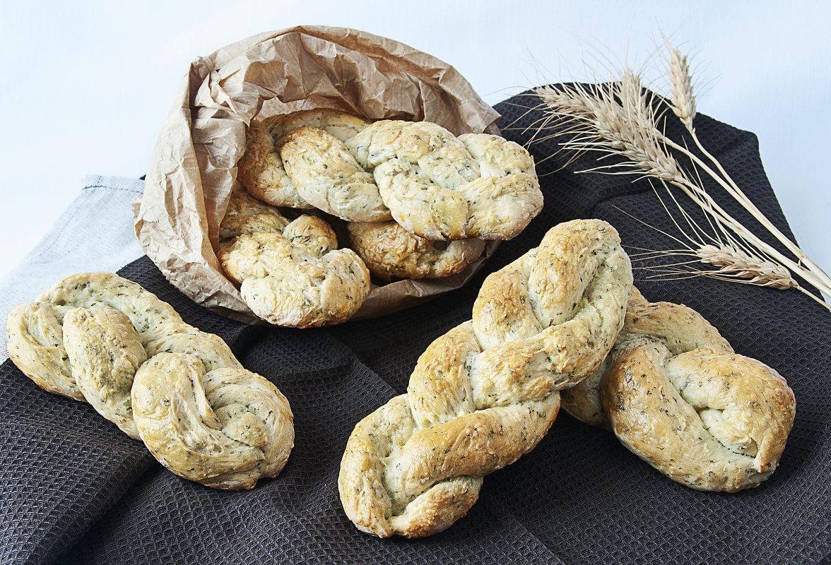 treccine di patate alle erbe aromatiche