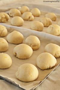 Mini panini al limone ed aglio