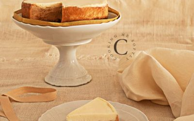 New York dulce de leche cheesecake