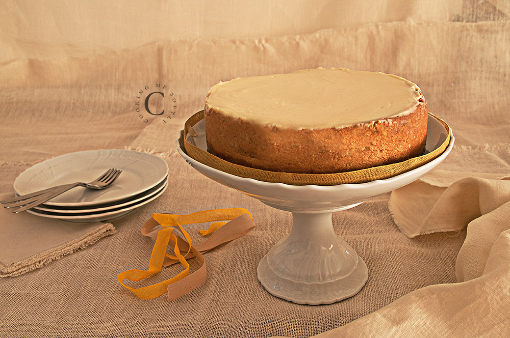 new York dulce de leche cheesecake