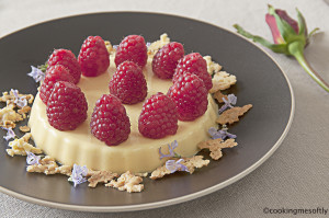 raspberries tarts