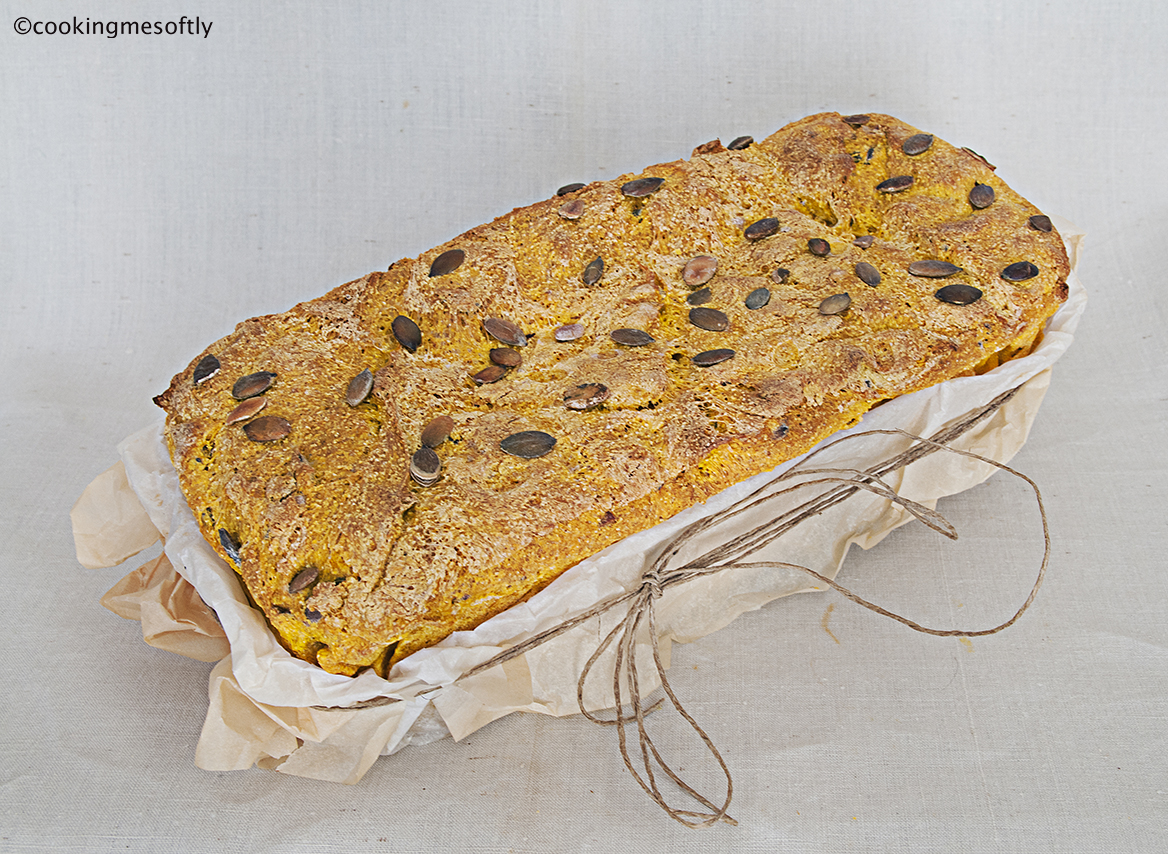 Yellow pumpkin bread  2 web