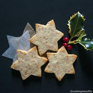 Sesame seeds star cookies3