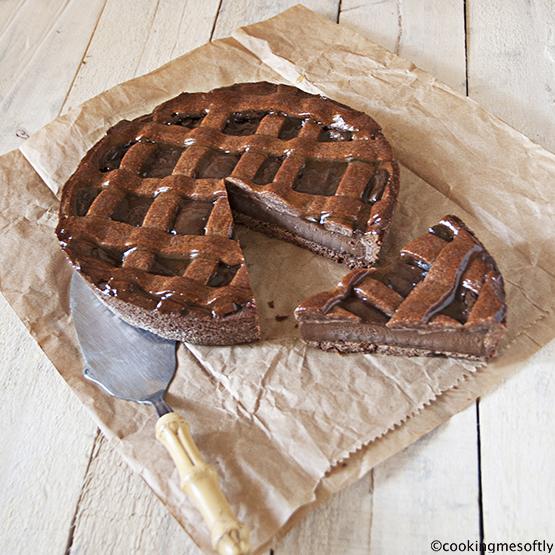 Crostata al cioccolato di E. Knamm
