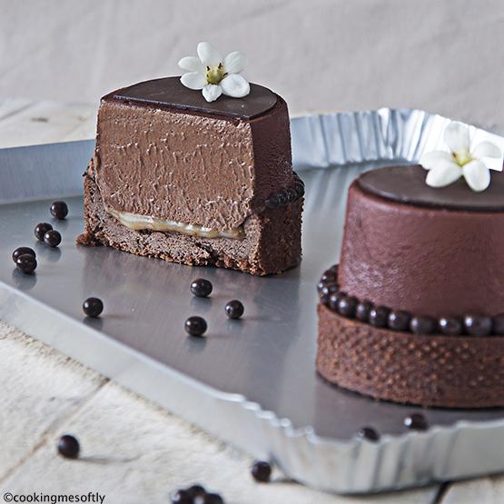 Mousse ciocco-caramello