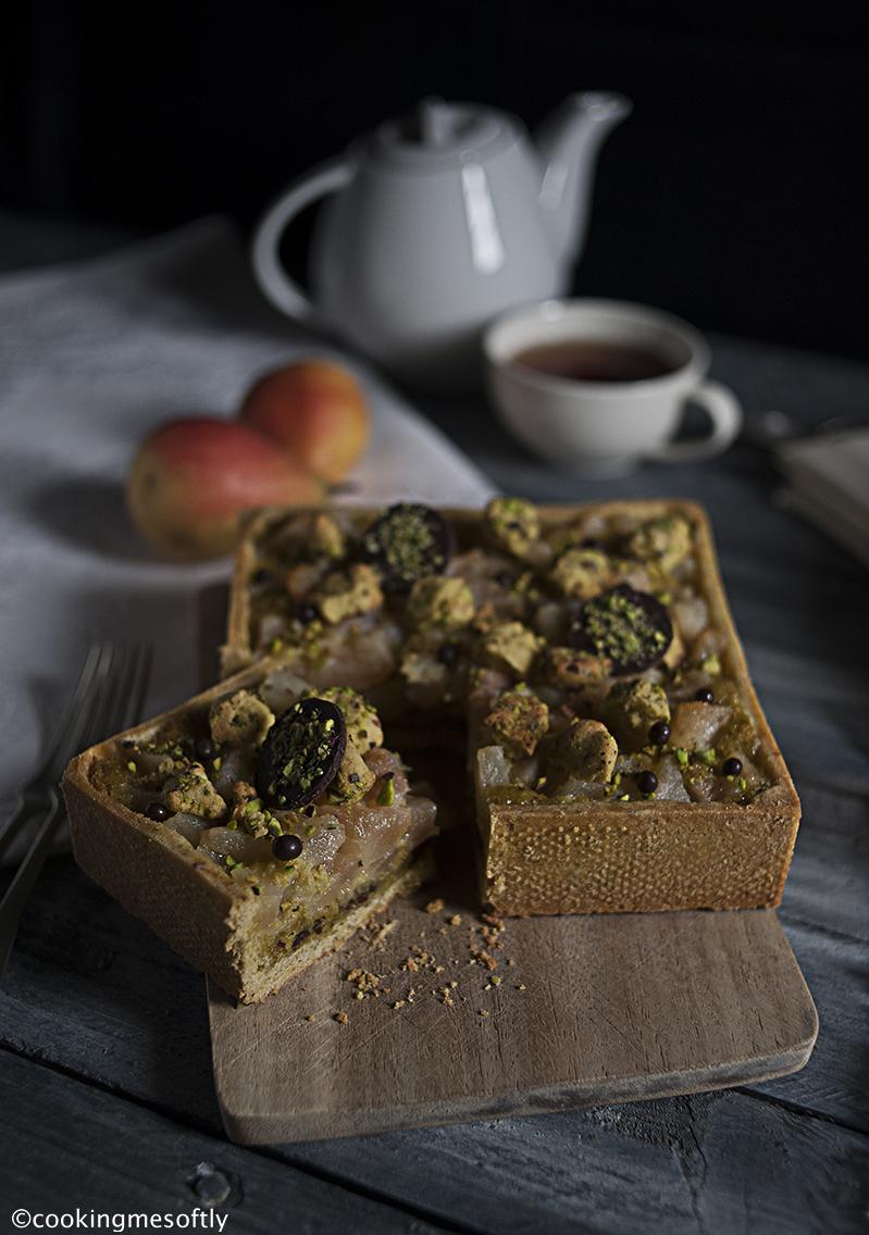 crostata-di-pistacchi-pere-e-cioccolato-3
