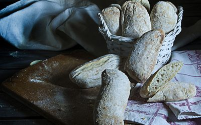 Small ciabatta bread
