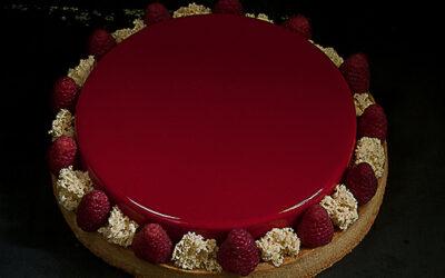 Crostata Red Passion ai lamponi
