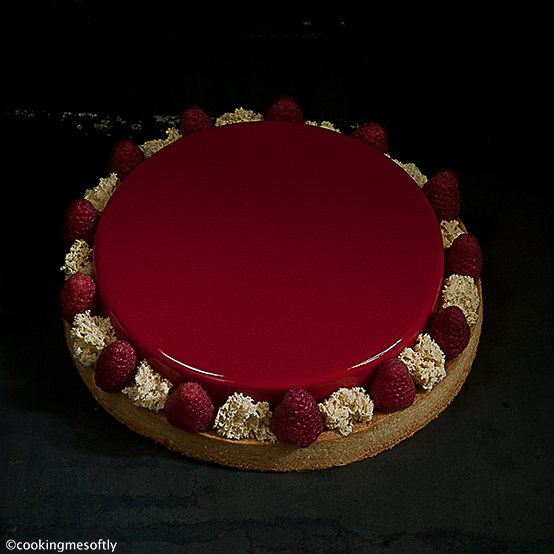 Crostata Red Passion ai lamponi