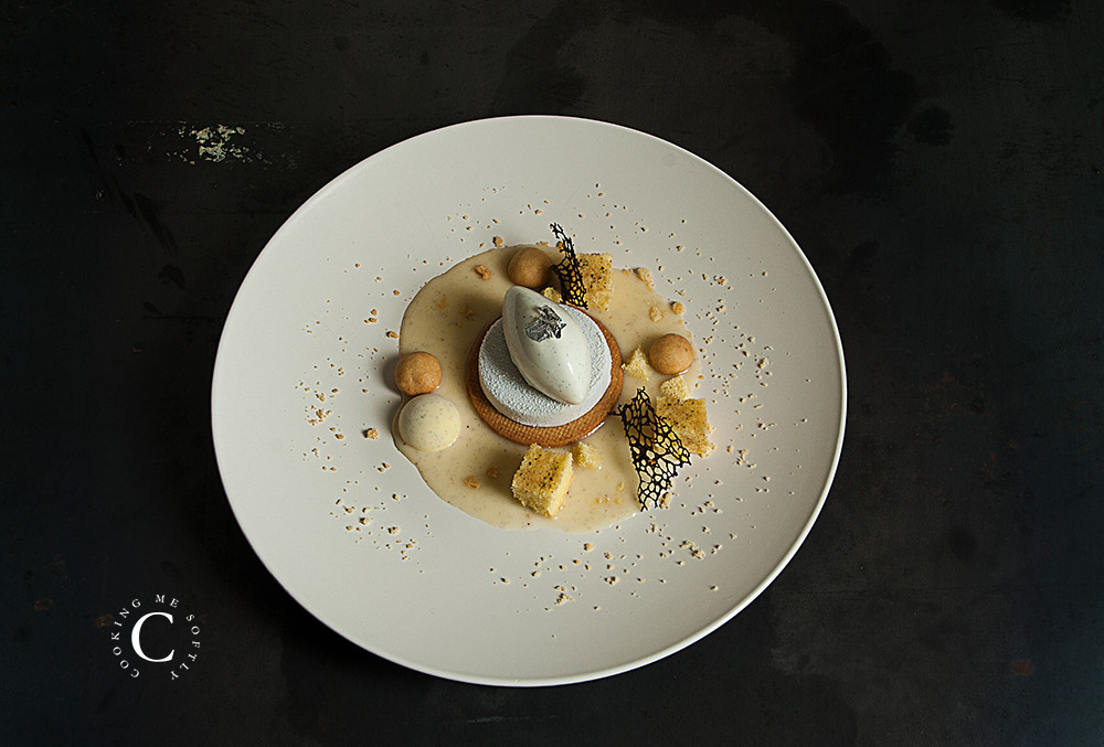 Tarte Infiniment Vanille: dessert al piatto