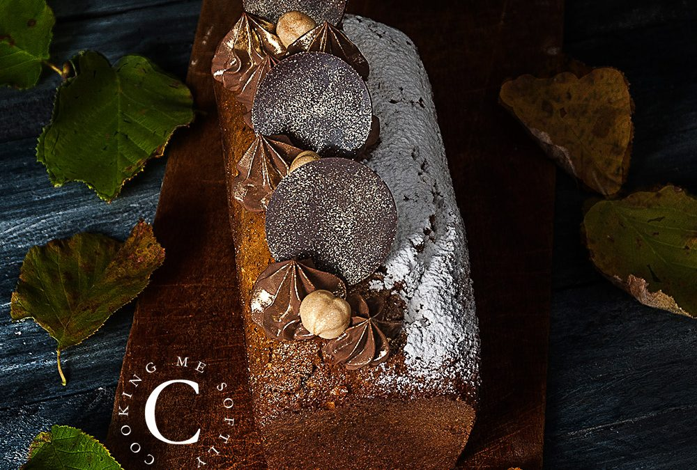 Chocolate and hazelnuts cake