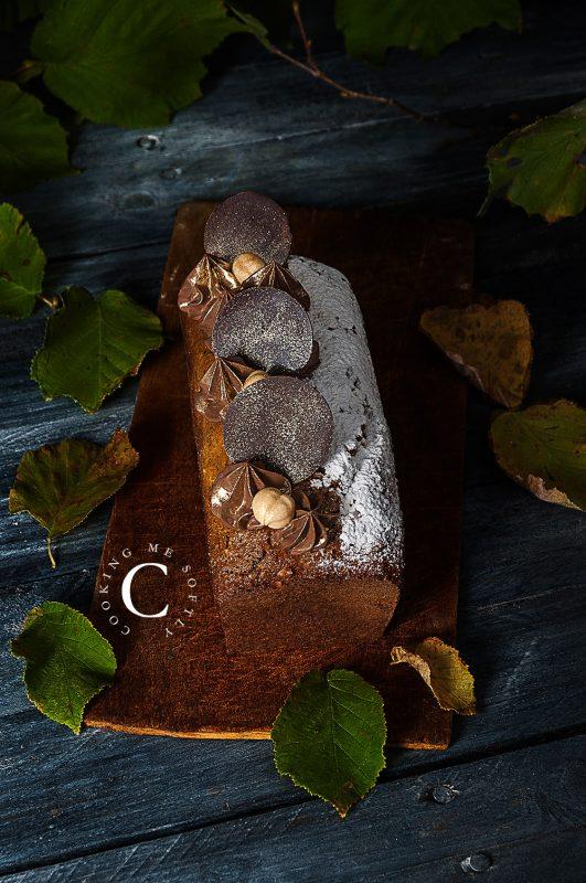 Cake cioccolato e nocciole