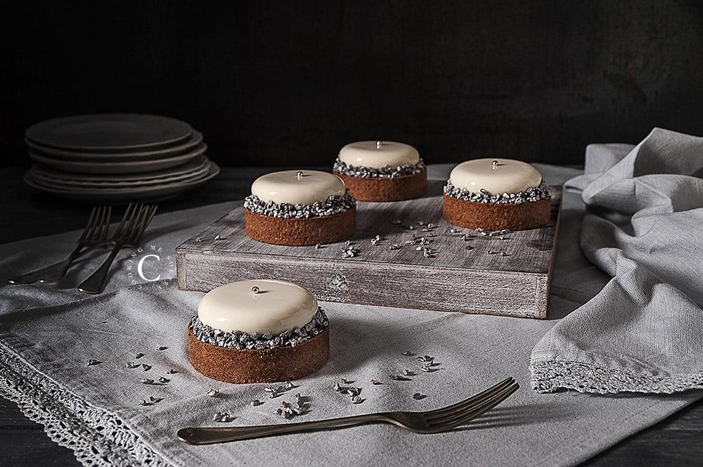 Tartellette cioccolato e vaniglia