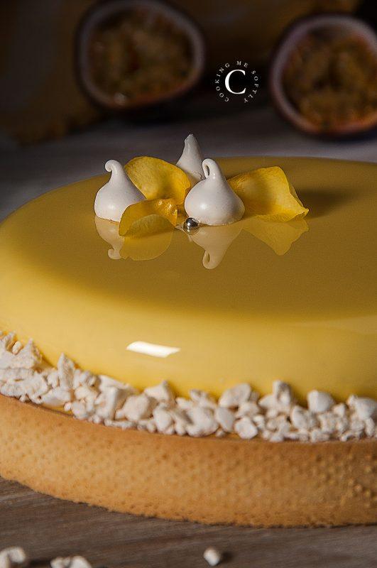 crostata passione e vanilla