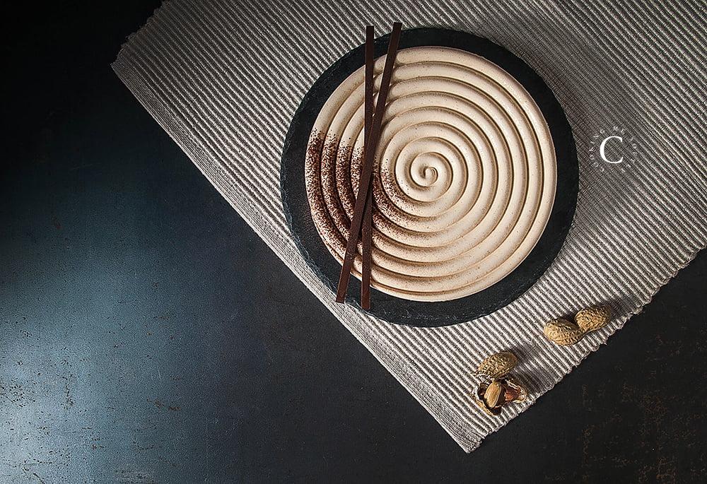 crostata alle arachidi e cioccolato
