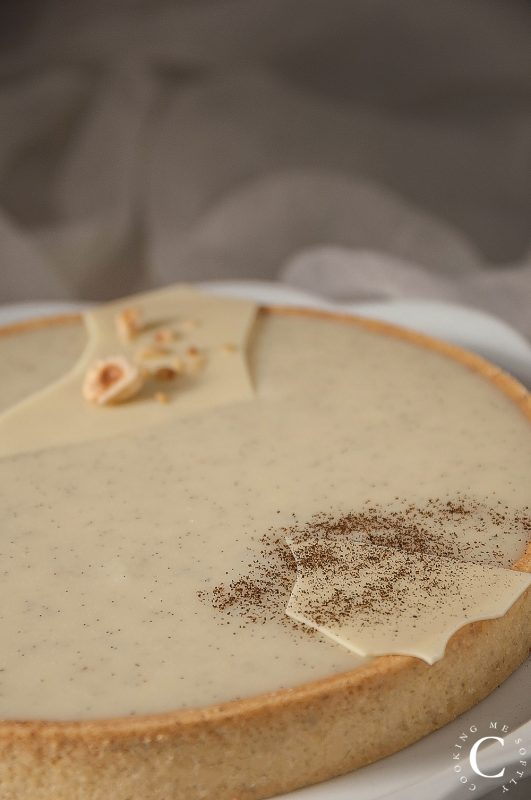 Crostata alla nocciola e vaniglia