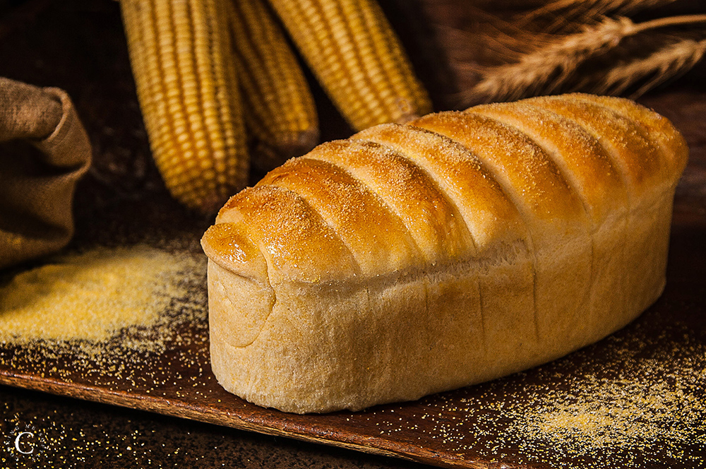 Milk bread with corn flour