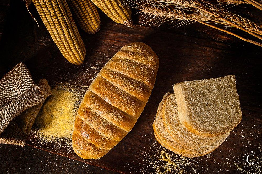pane al latte con farina di mais
