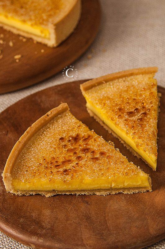 Crostata Crème brulée