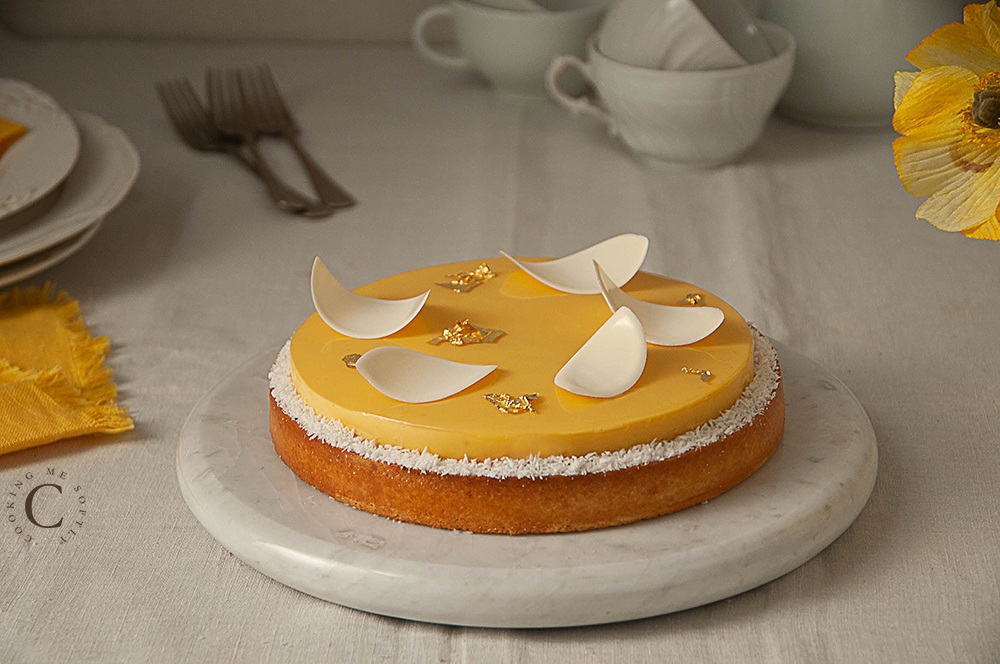 Crostata esotica mango e passion fruit