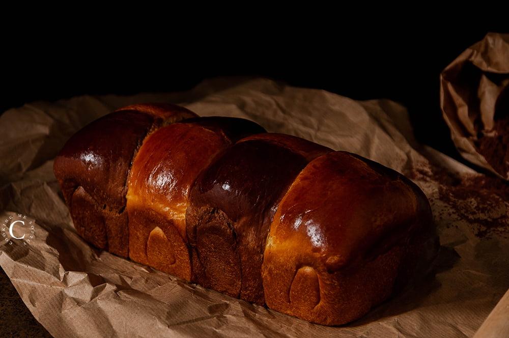 Brioche al cacao e arancia con metodo TangZhong