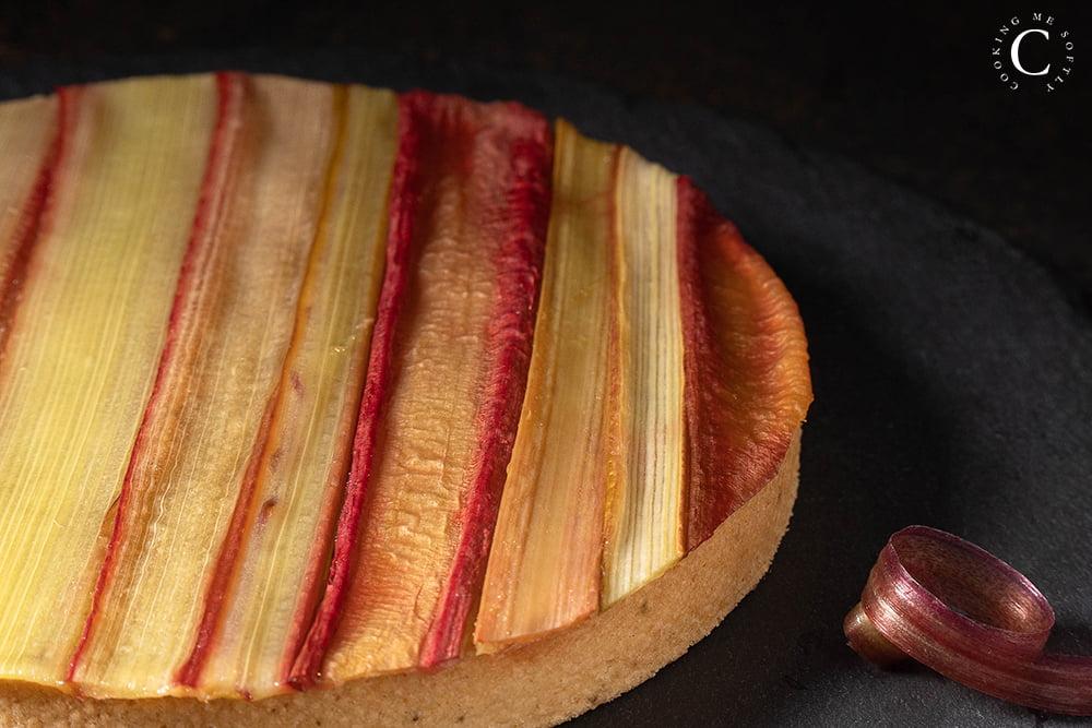 crostata al rabarbaro