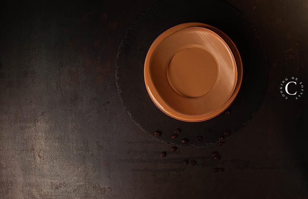entremet al caramello e caffè