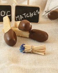 Fiammiferi di cioccolato