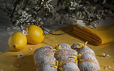 Lemon Buchty Brioche